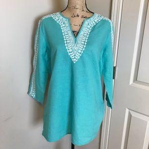 Brooks Brothers Linen top
